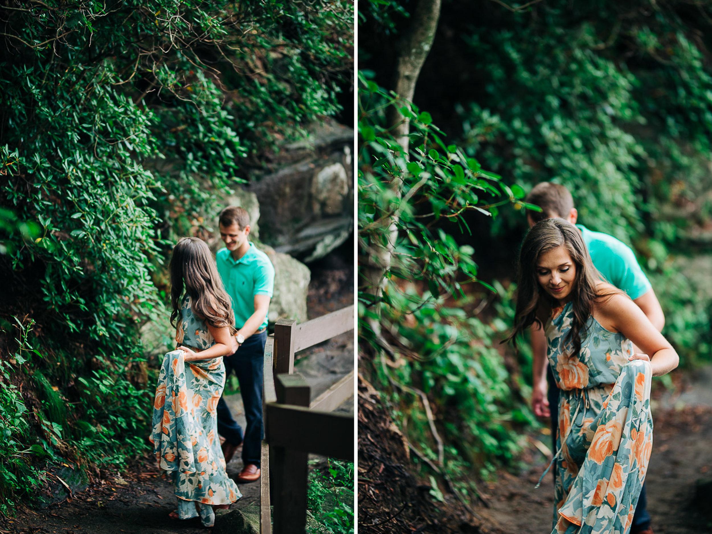 Mountain Engagement Portraits, Summer, SC Wedding Photographers, 18.jpg
