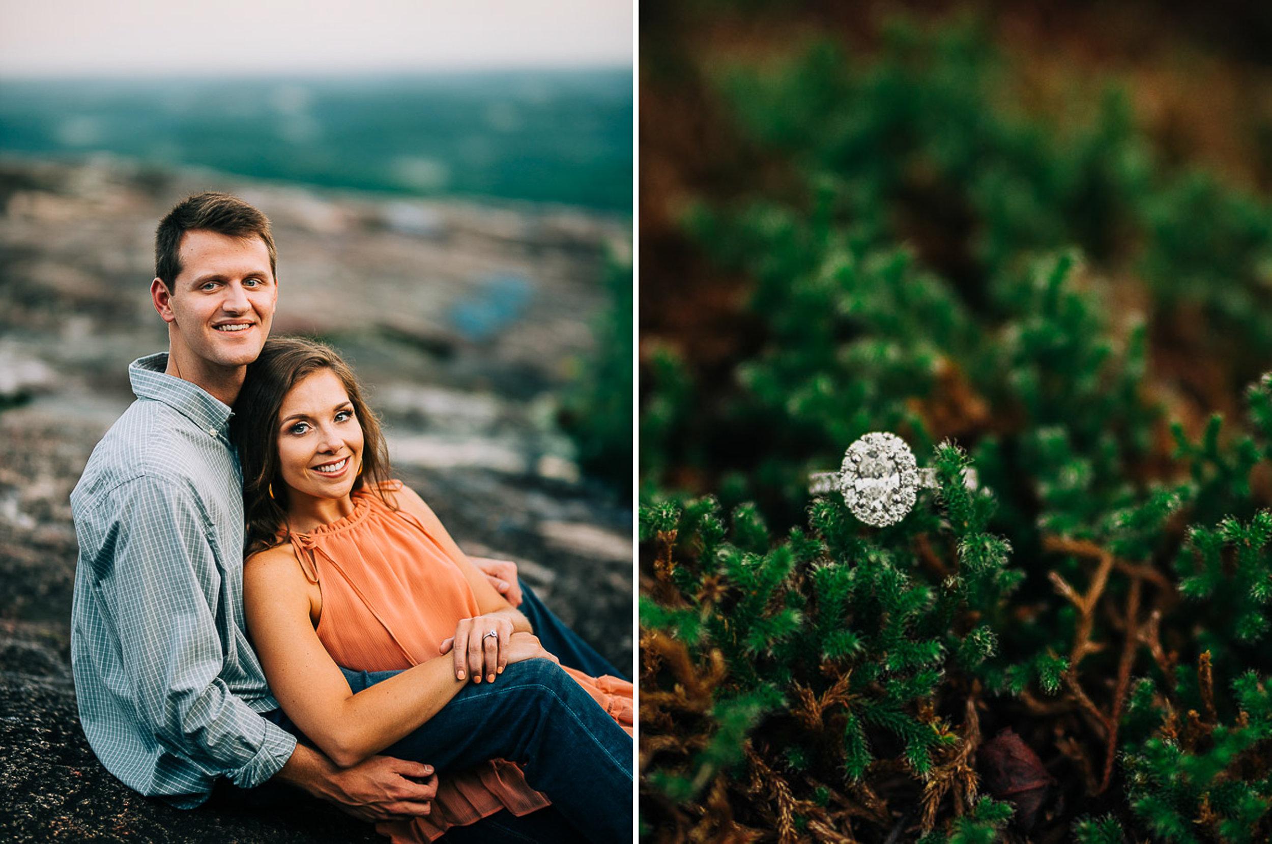 Mountain Engagement Portraits, Summer, SC Wedding Photographers, 12.jpg