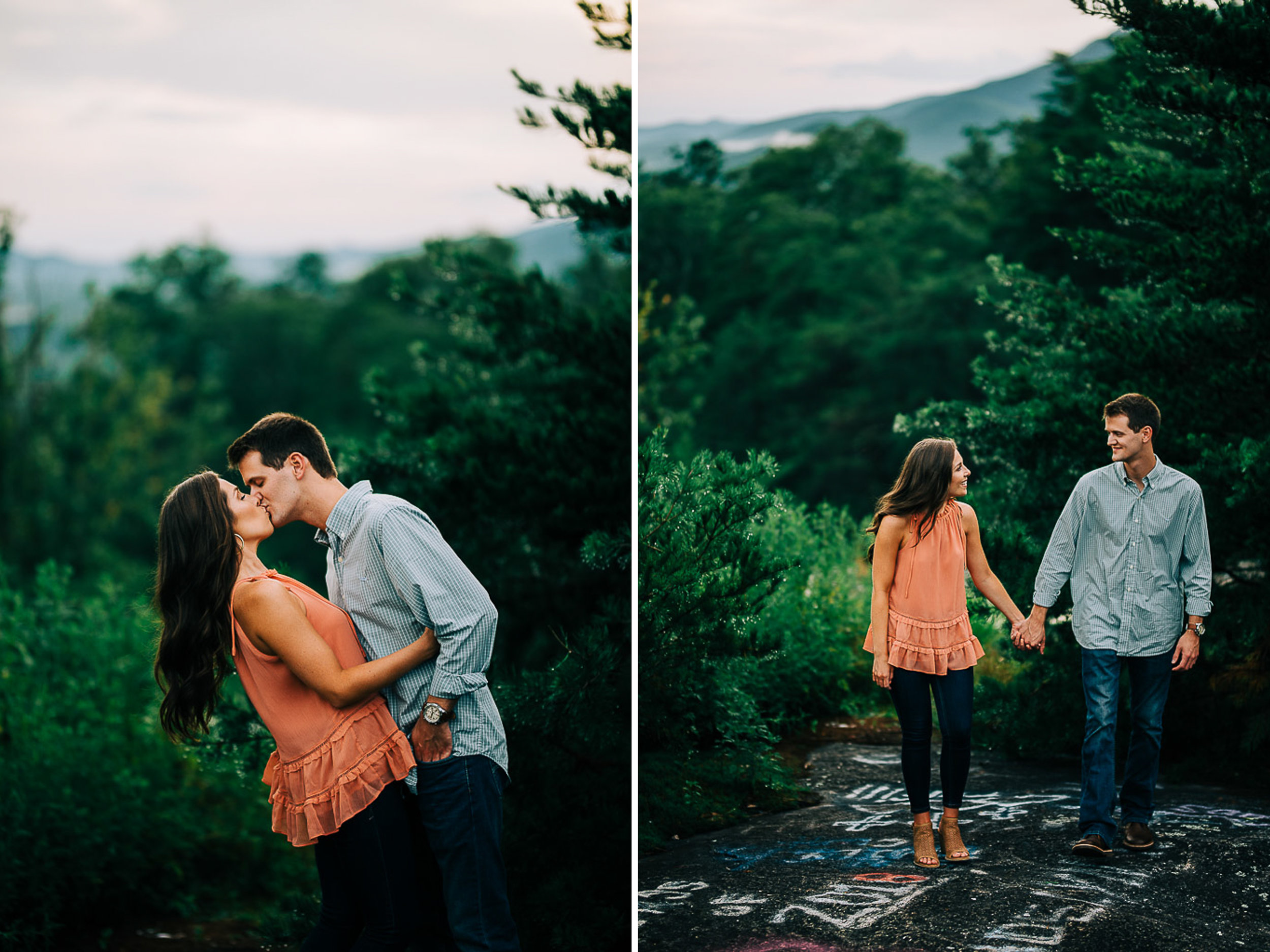 Mountain Engagement Portraits, Summer, SC Wedding Photographers, 14.jpg