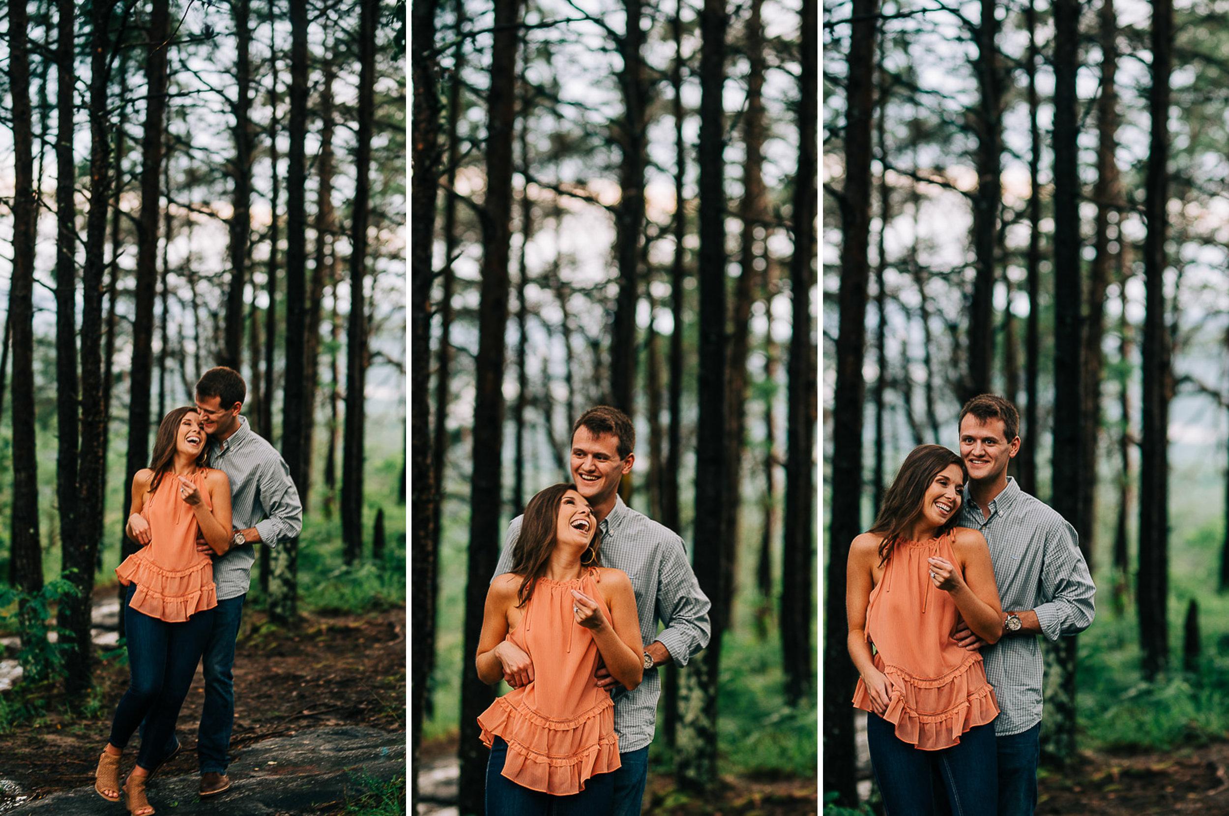 Mountain Engagement Portraits, Summer, SC Wedding Photographers, 15.jpg