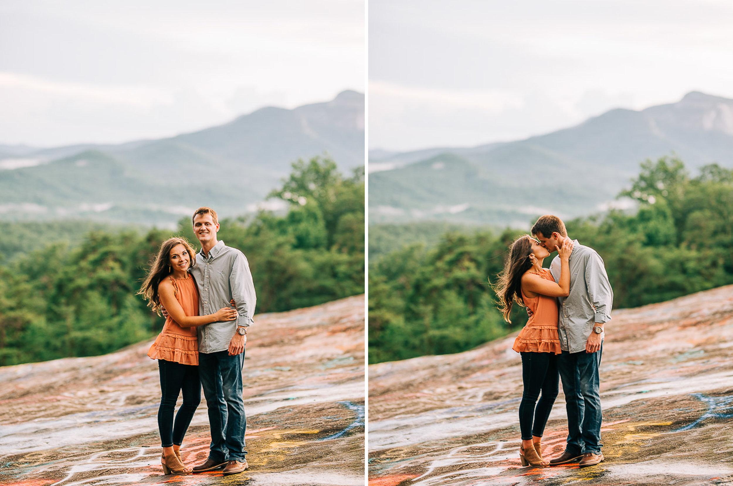 Mountain Engagement Portraits, Summer, SC Wedding Photographers, 16.jpg