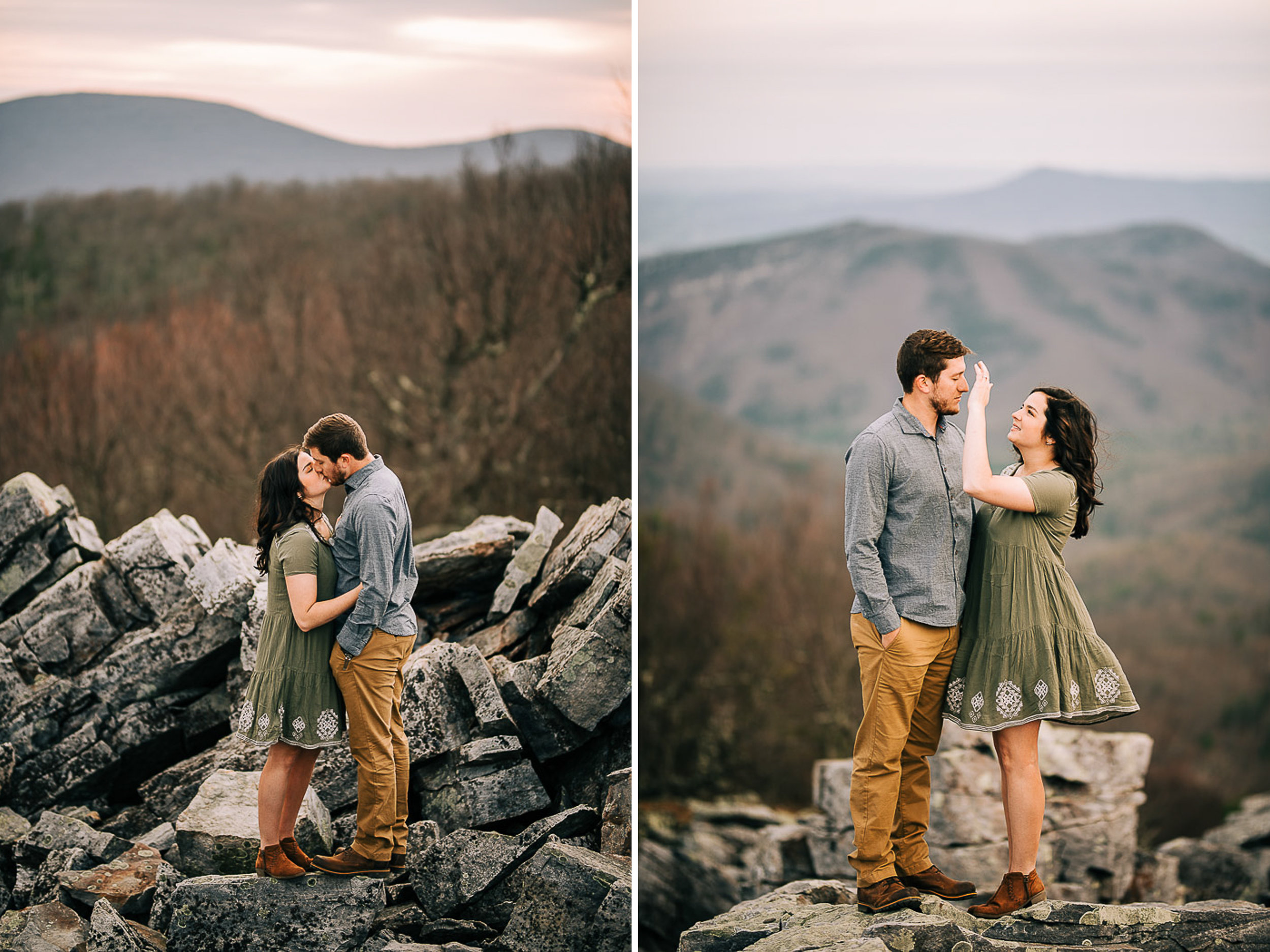 Sunrise Portriats, Mountain Portraits, Engagement Portraits, Anniversary Portraits, Summer Mast Photography 02.jpg