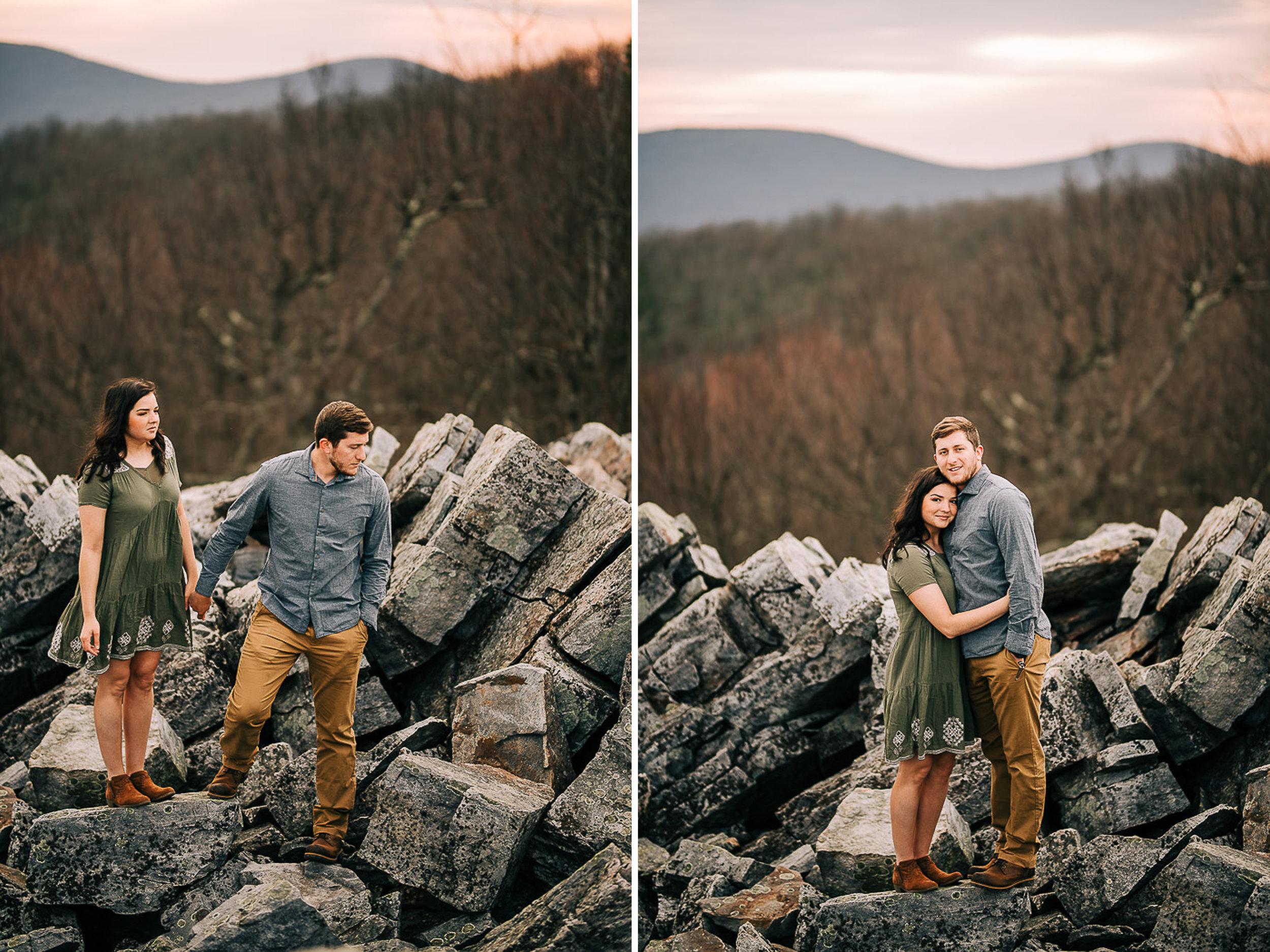 Sunrise Portriats, Mountain Portraits, Engagement Portraits, Anniversary Portraits, Summer Mast Photography 01.jpg