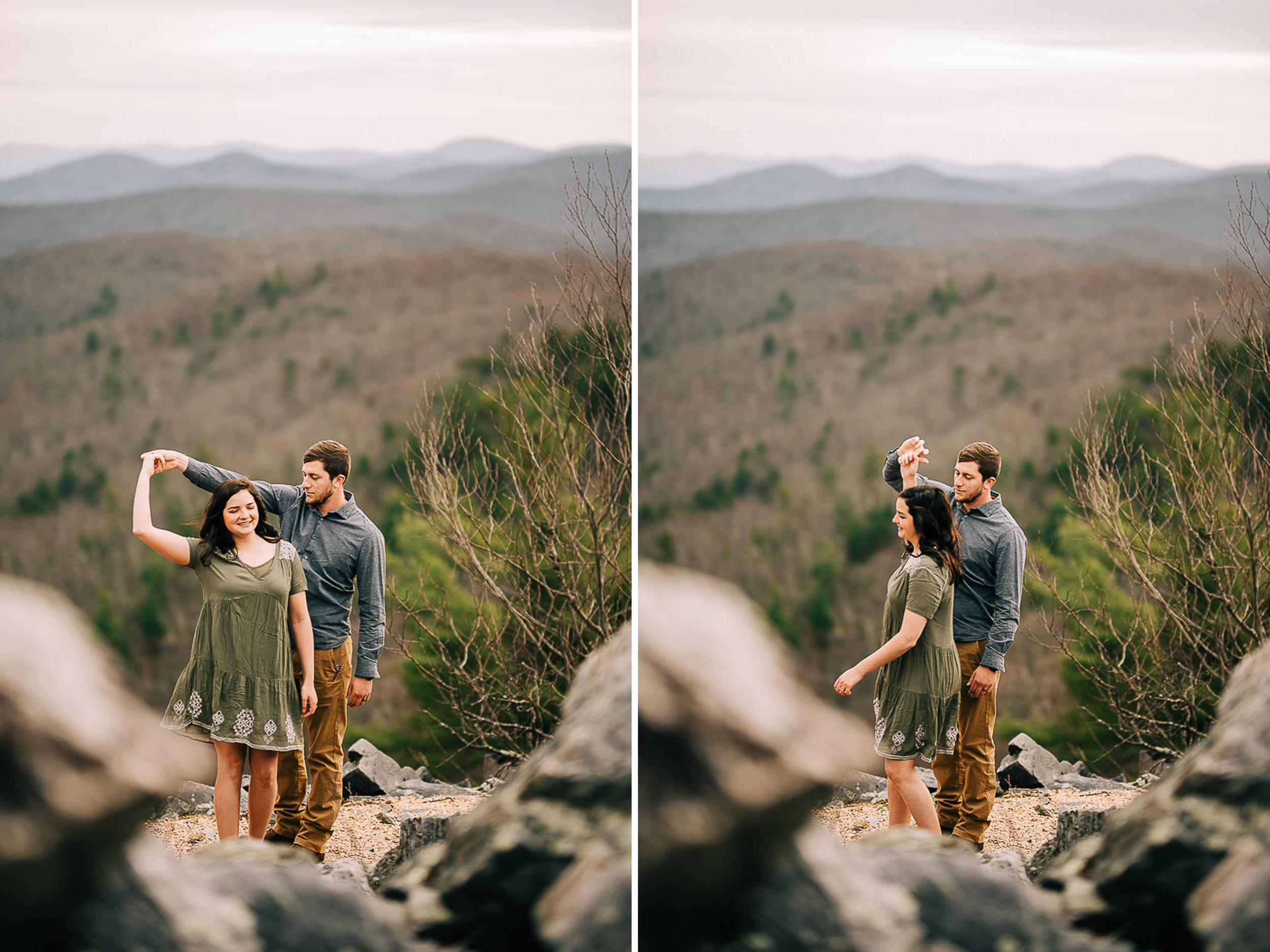 Sunrise Portriats, Mountain Portraits, Engagement Portraits, Anniversary Portraits, Summer Mast Photography 05.jpg