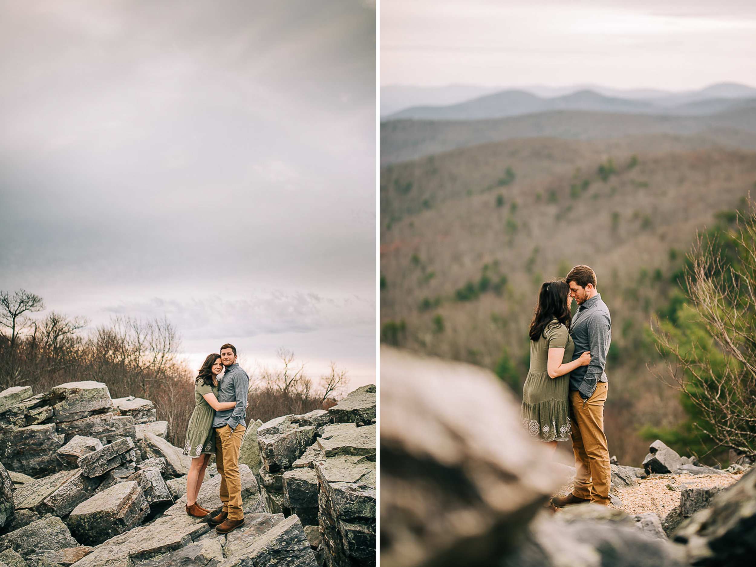 Sunrise Portriats, Mountain Portraits, Engagement Portraits, Anniversary Portraits, Summer Mast Photography 06.jpg