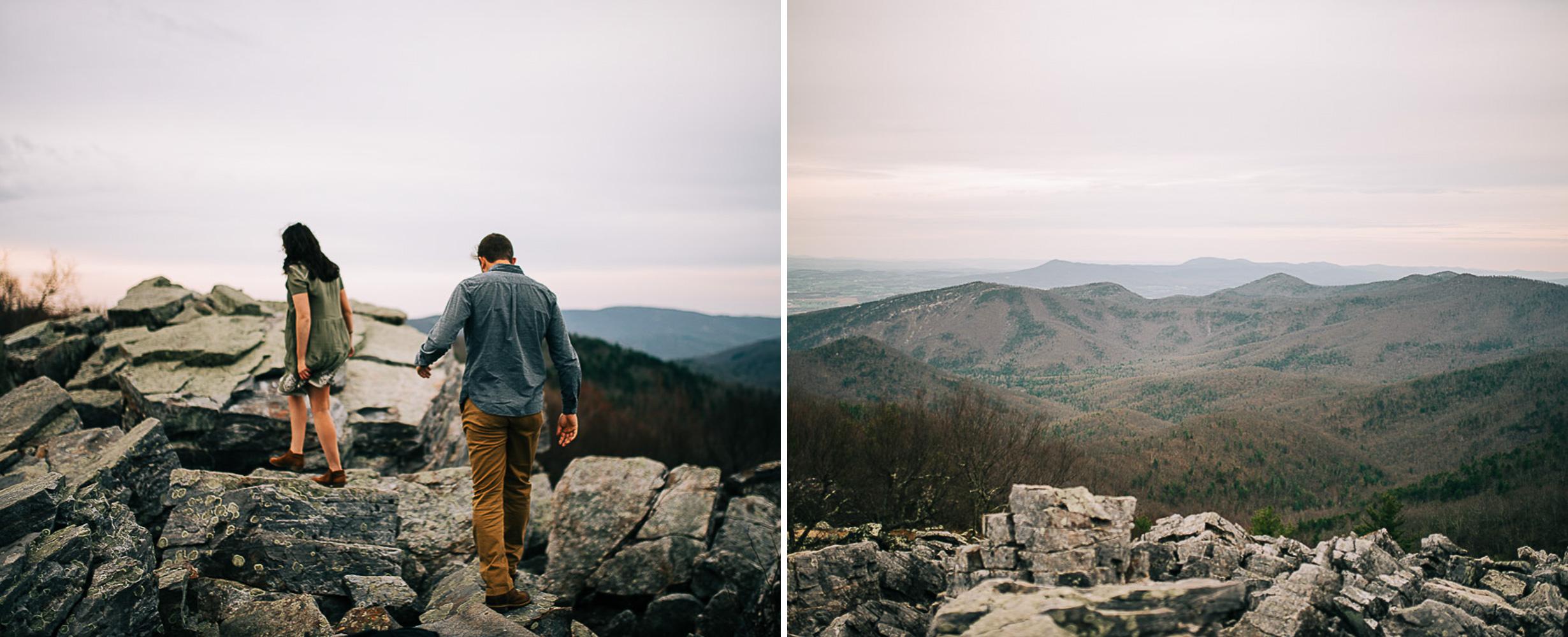 Sunrise Portriats, Mountain Portraits, Engagement Portraits, Anniversary Portraits, Summer Mast Photography 08.jpg