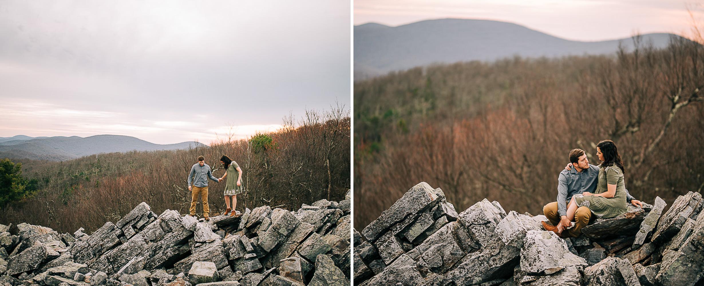 Sunrise Portriats, Mountain Portraits, Engagement Portraits, Anniversary Portraits, Summer Mast Photography 09.jpg
