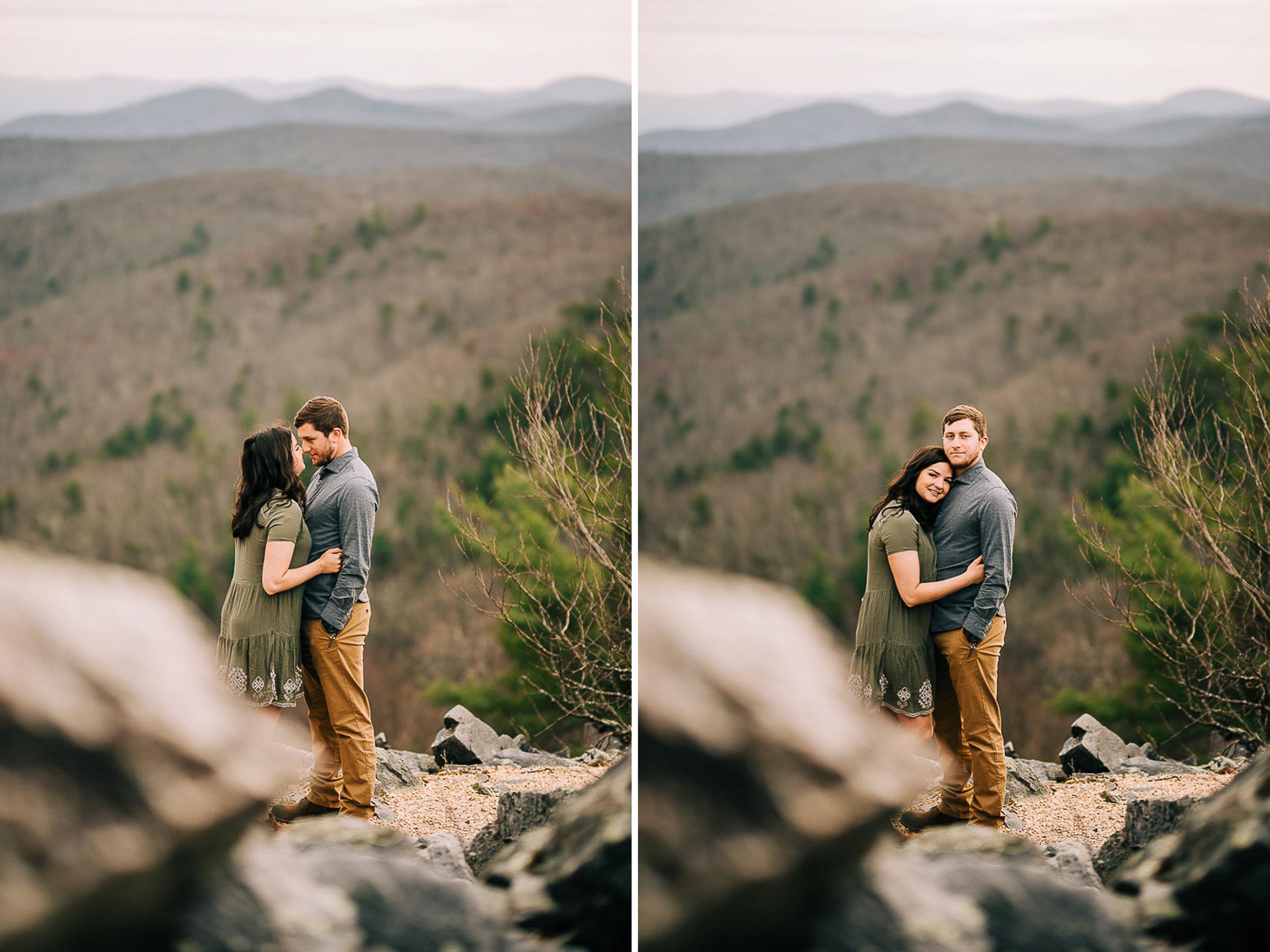 Sunrise Portriats, Mountain Portraits, Engagement Portraits, Anniversary Portraits, Summer Mast Photography 07.jpg