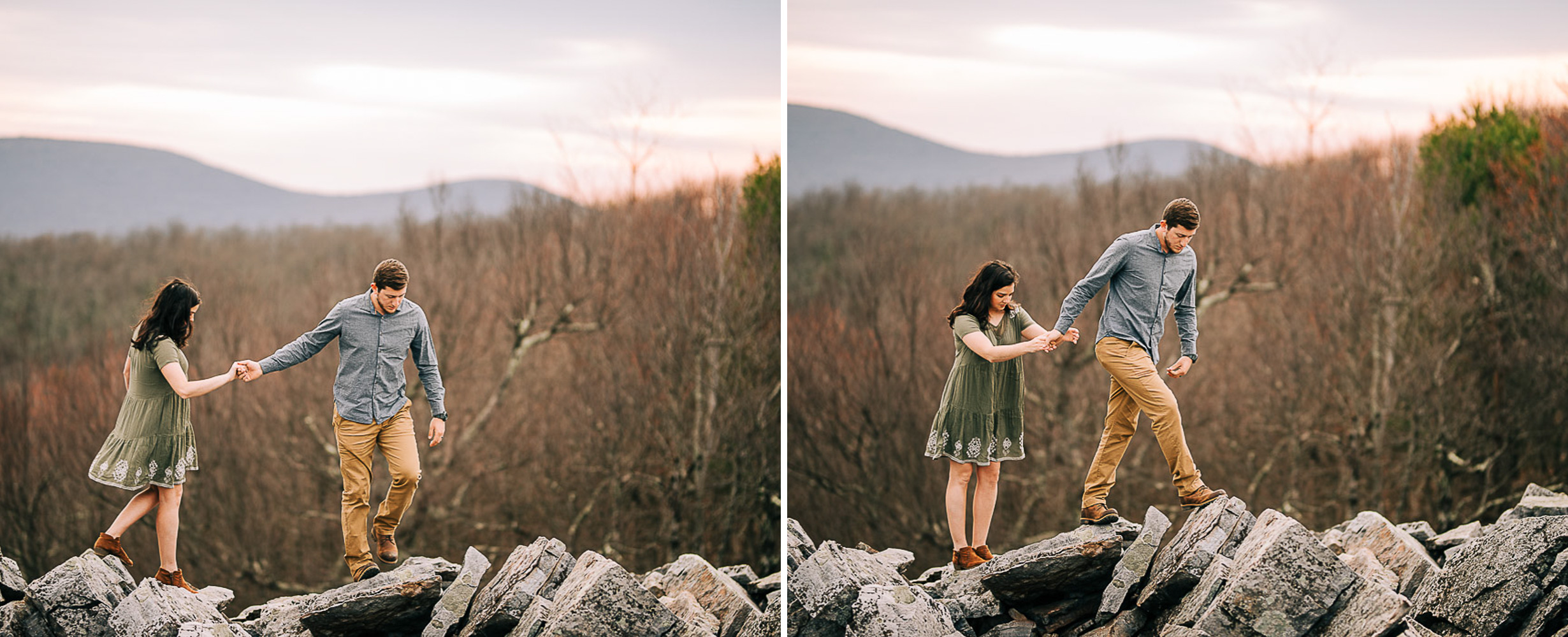 Sunrise Portriats, Mountain Portraits, Engagement Portraits, Anniversary Portraits, Summer Mast Photography 10.jpg