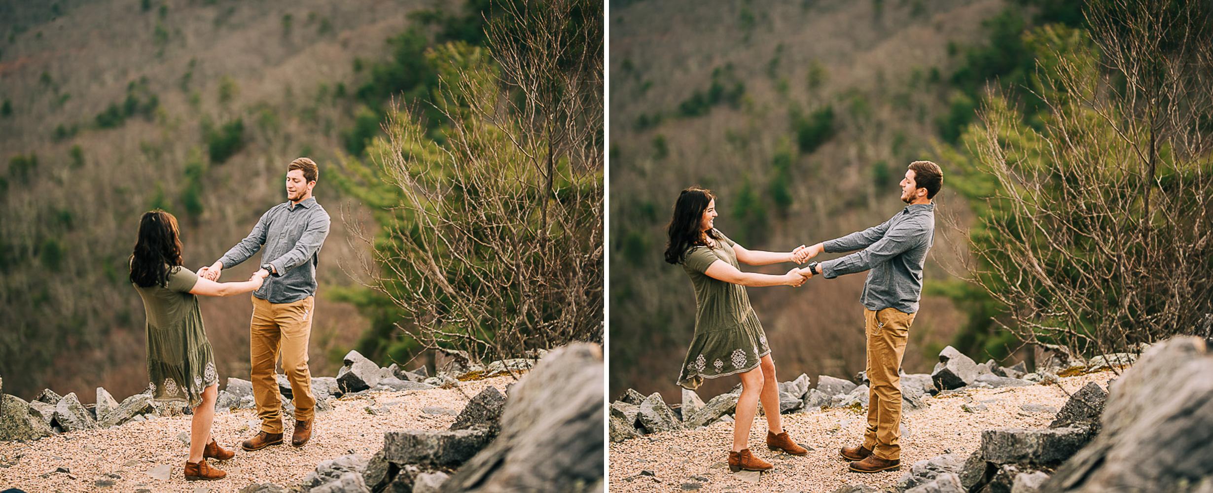 Sunrise Portriats, Mountain Portraits, Engagement Portraits, Anniversary Portraits, Summer Mast Photography 11.jpg