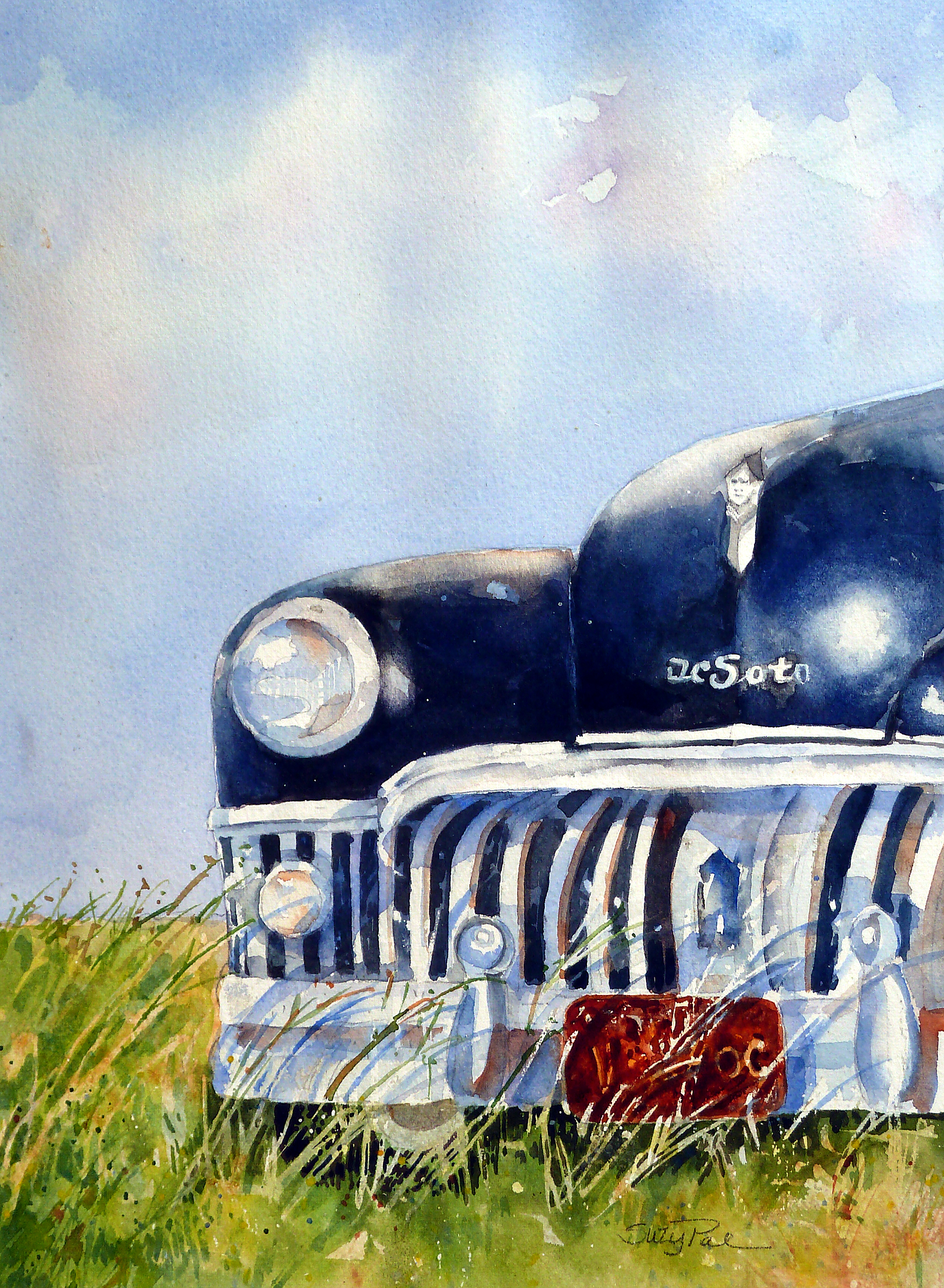 Just Park'n16x20watercolorSuzy'Pal'Powell.jpg