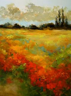 Nancy Medina Sunset Blaze Wildflower Fields 16X12.jpg