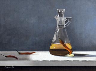Pepper Sauce  9x12  Oil on Linen  Mike Schroeder  $1,200.00.png