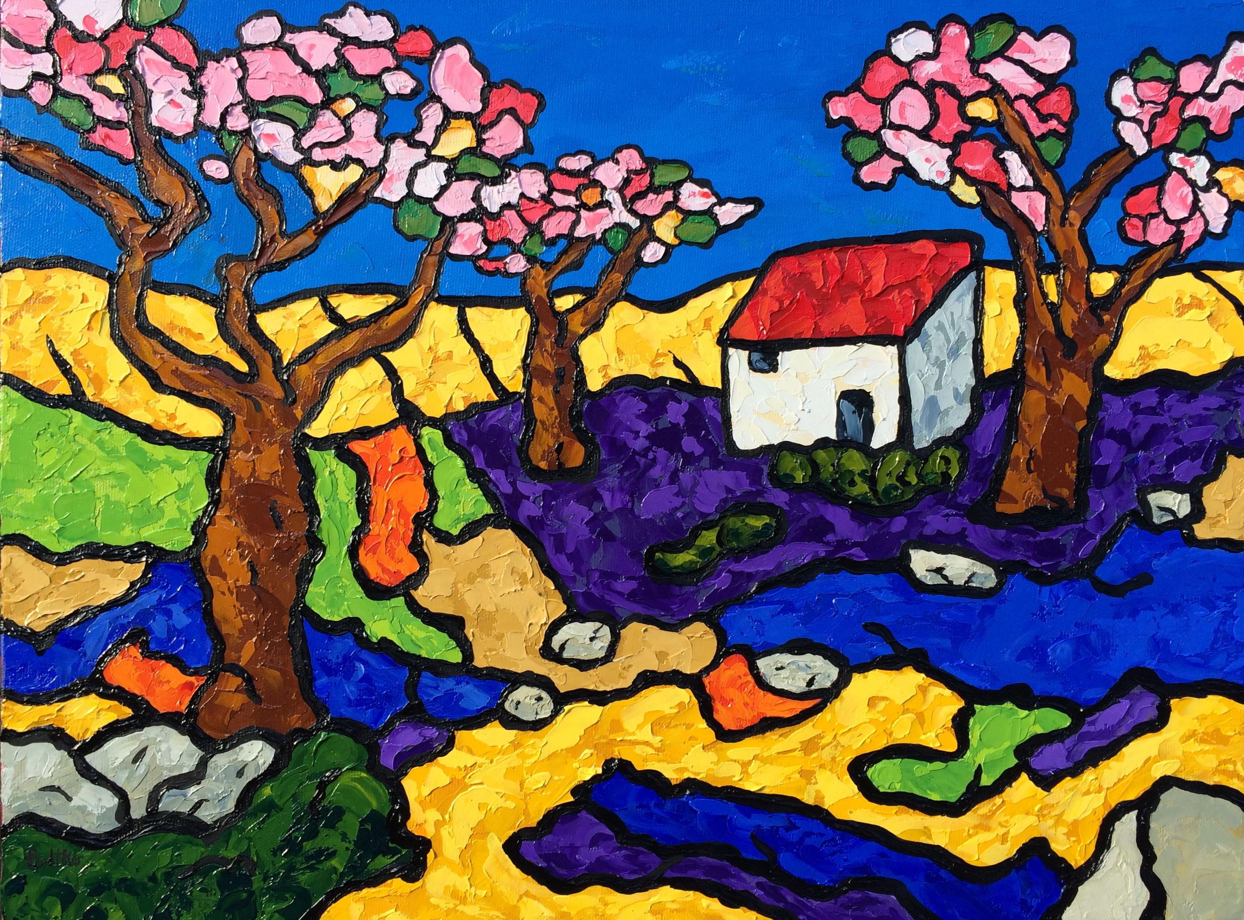 EricBodtker_Blossoming_Trees_16x12_oiloncanvas.JPG