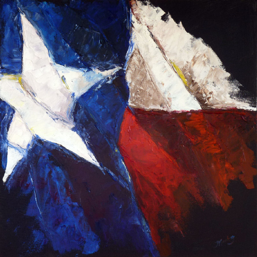 Judy Mackey_Texas Star_24x24_oil canvas.jpg