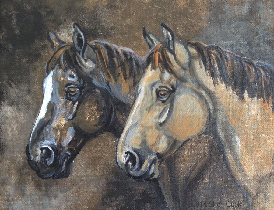 SheriCook_TwoHorses_8x10acrylic_canvas.jpg