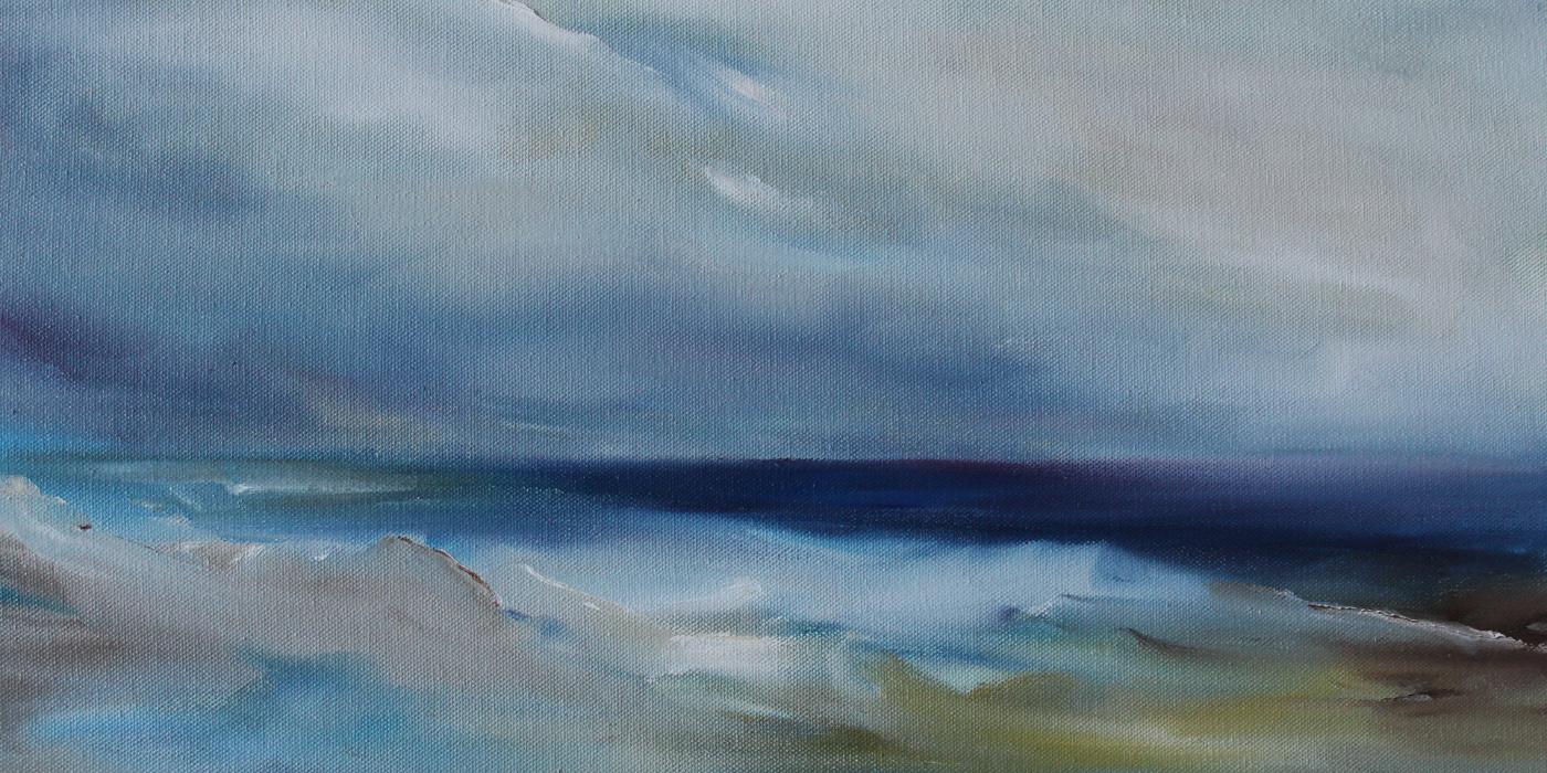 Kristine Kainer, Of Tides That Never, oil
