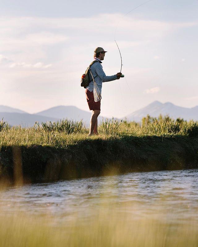 Mountain streams w/ @cosugg [Hartsel, CO - July 2019 - @senderopc #optoutside #getoutstayout #solarlife #explore #wanderlust #flyfishing #spiritofthewest #soulofthewild]
