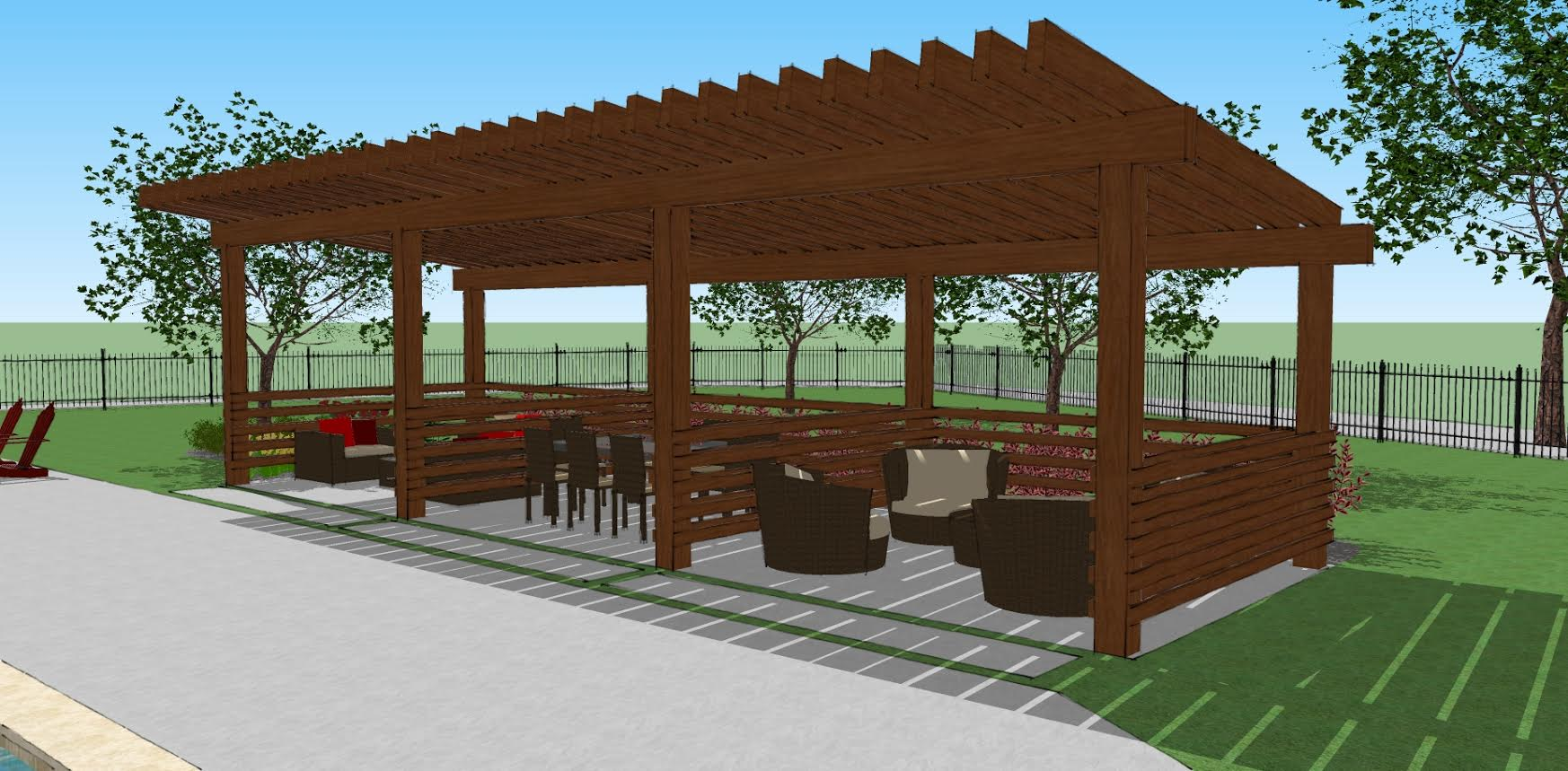 dallas texas landscaping outdoor living and building services pergola