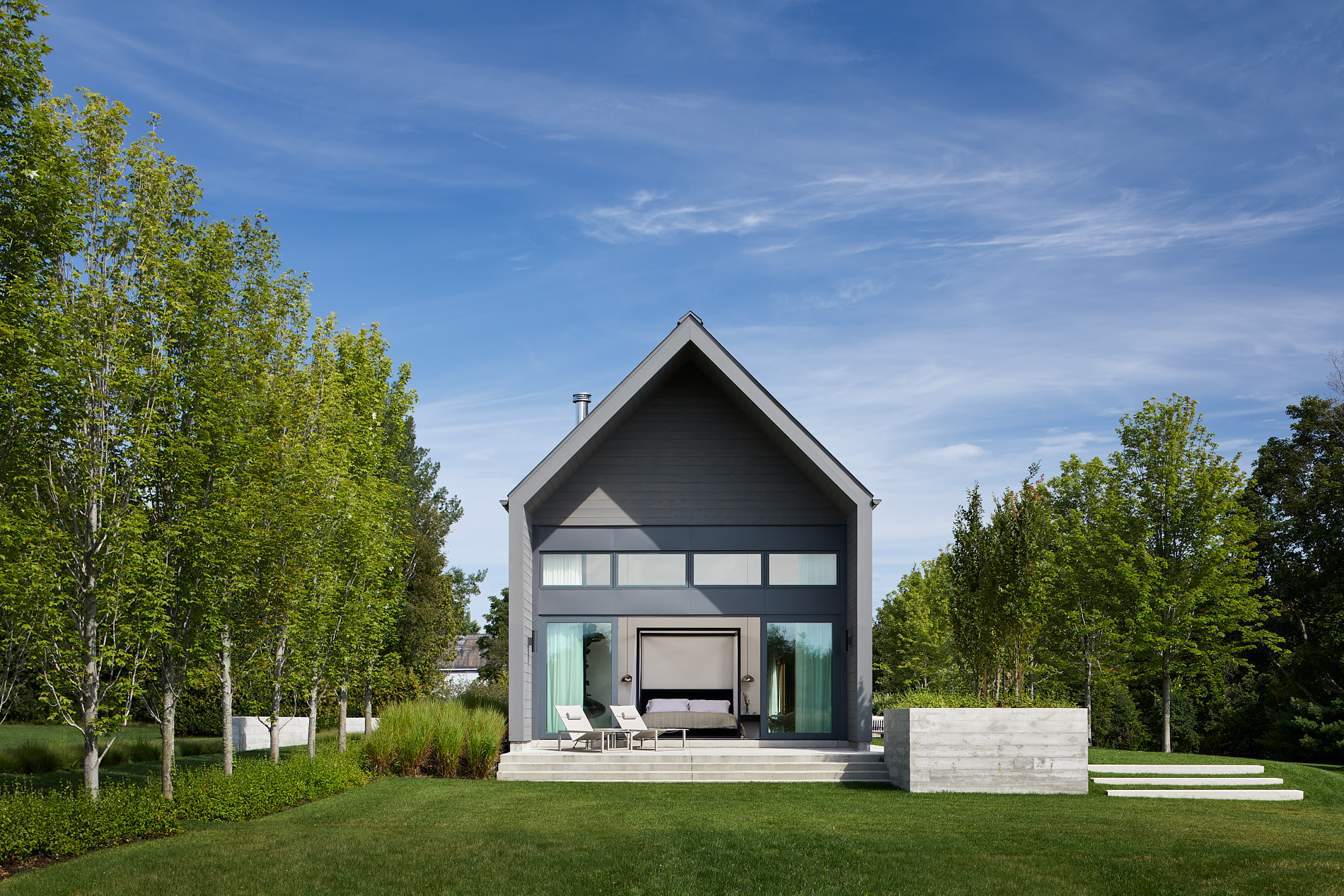 Location: Ganaraska, Ontario / Size: 500 sq m / Completed: 2017  Photos by: doublespacephoto.com / Interiors by: and-daughters.com / Construction by: denbosch.ca