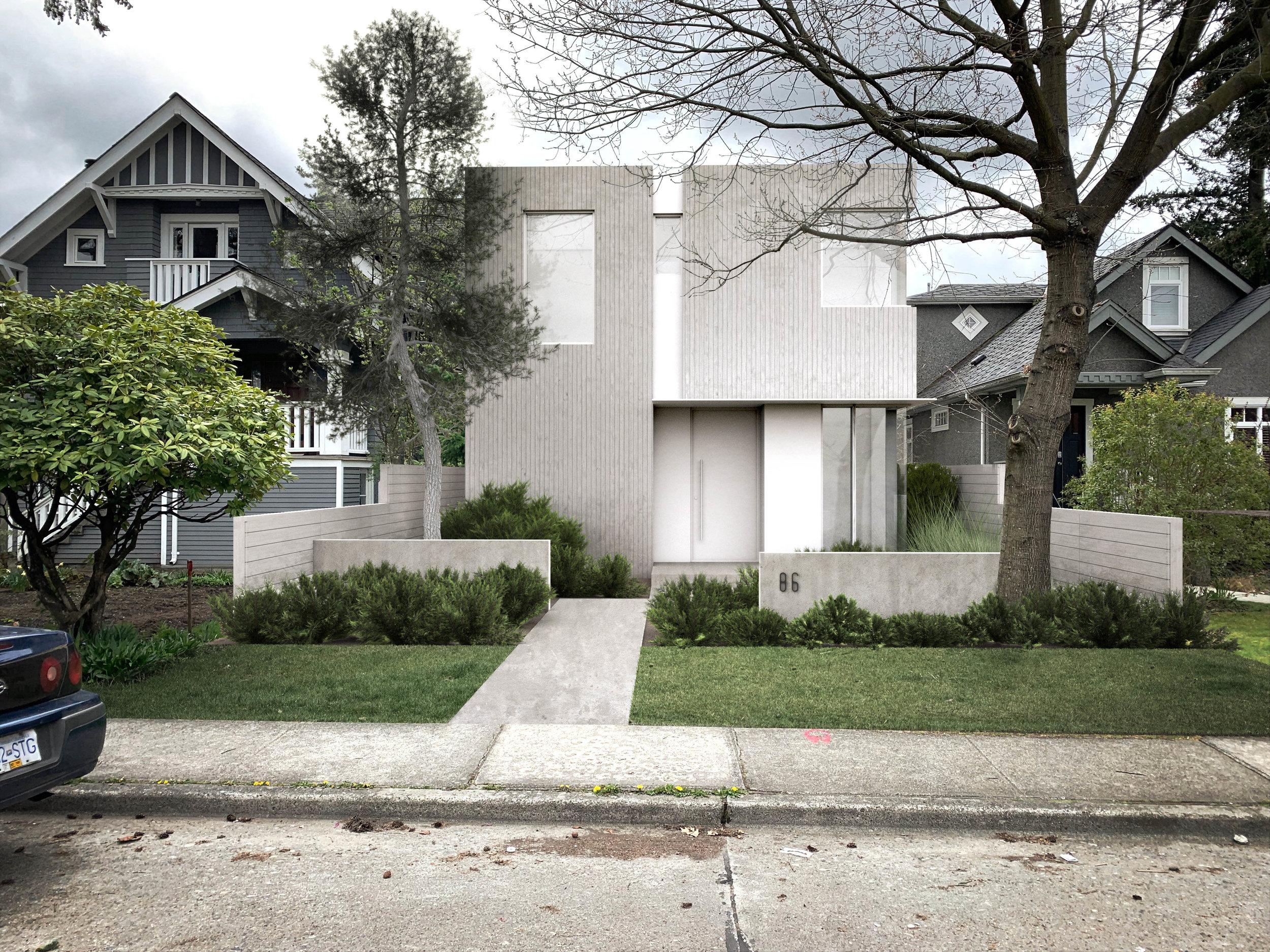 Location: Mount Pleasant, Vancouver / Size: 300 sq m / Status: Design