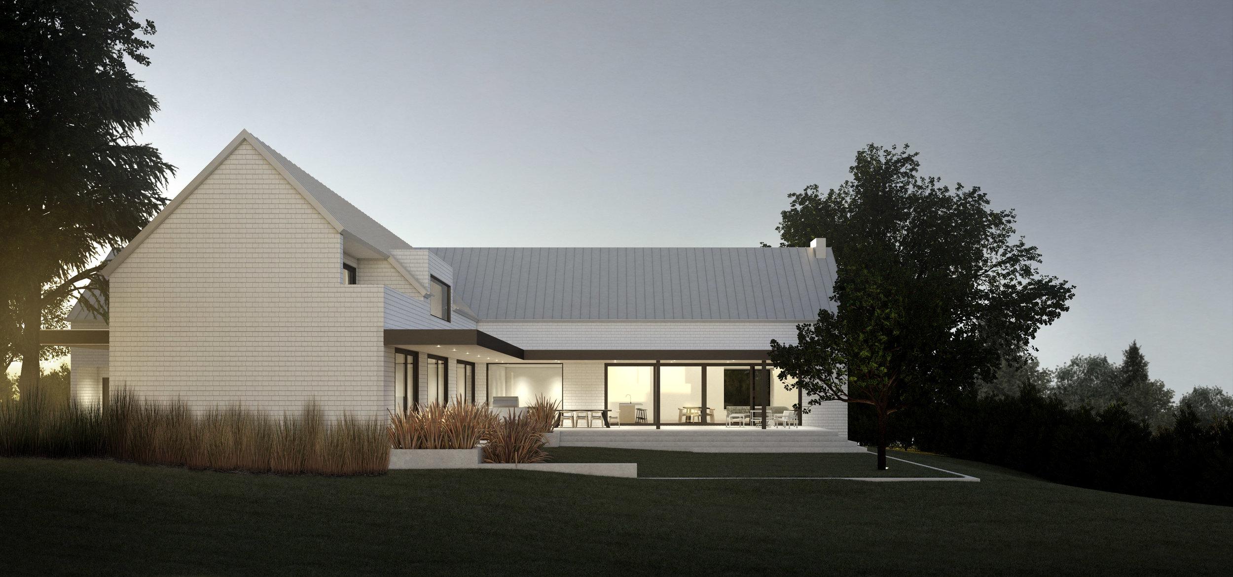 Location: Oak Bay, BC / Size: 900 sq m / Status: Design