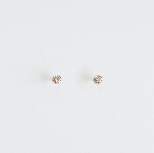 7c743a5817312e tiny diamond stud earrings — eunajoyce jewelry