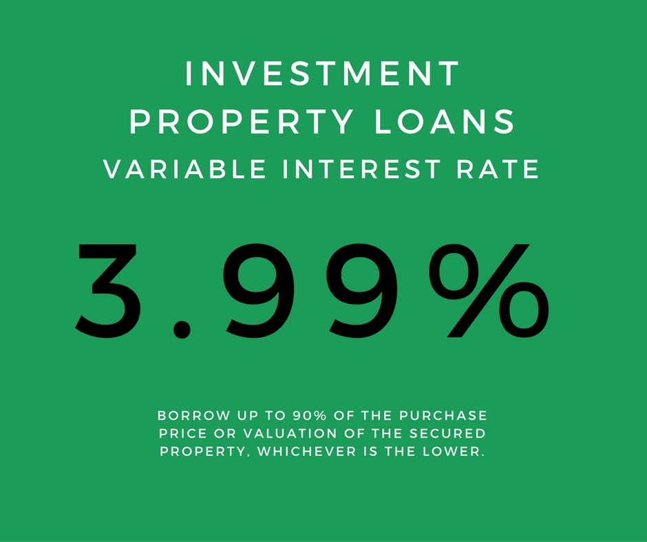 3.99% Variable Interest Rate for Investment Property Loans - Contact Mint Equity on 02 4340 4847 to see if this product is right for you.