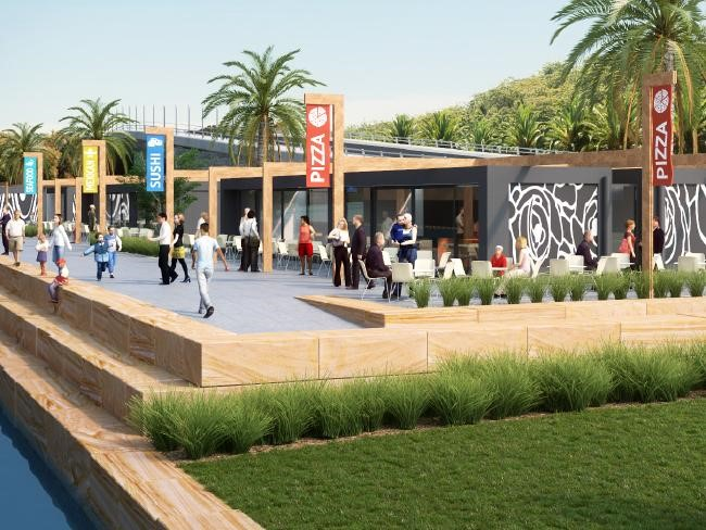Gosford waterfront redevelopment - artist impression