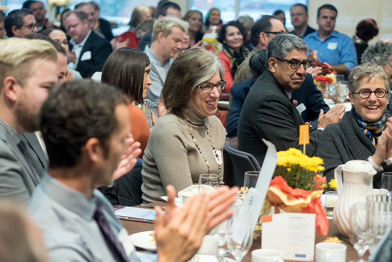 Jennifer Knapp (center) delivered the keynote at LSC's leadership day breakfast.jpg