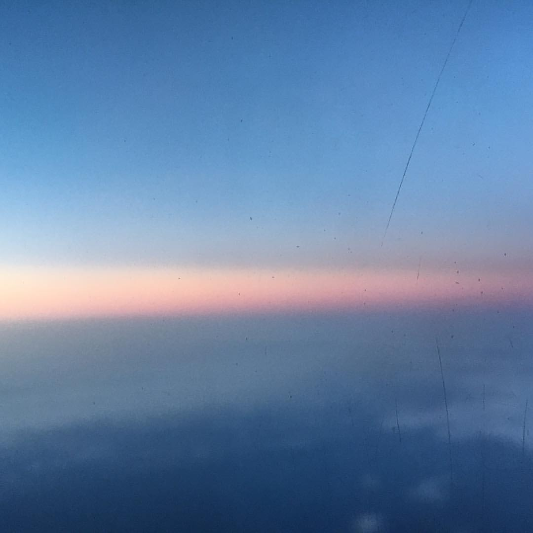 #sunrise from the air.  (at John F. Kennedy International Airport)
