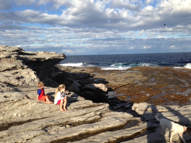 We love taking the kids bushwalking to Cape Banks in Botany Bay National Park. We hope it instills in them a love and respect of nature.