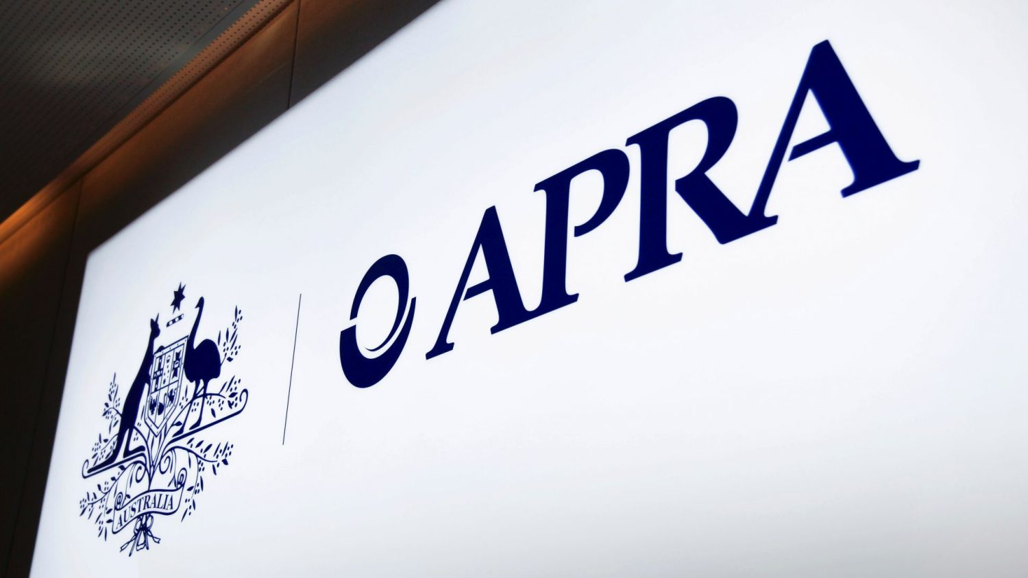 You can check the apra site to see if a potential bank is licensed.