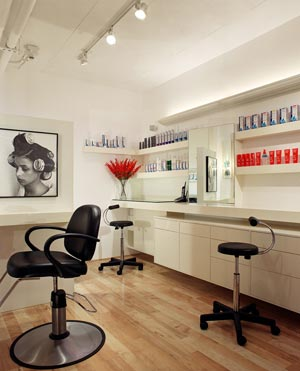 Salon Republic Beverly Hills Inside