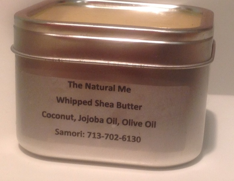 The Natural Me Whipped Shea Butter