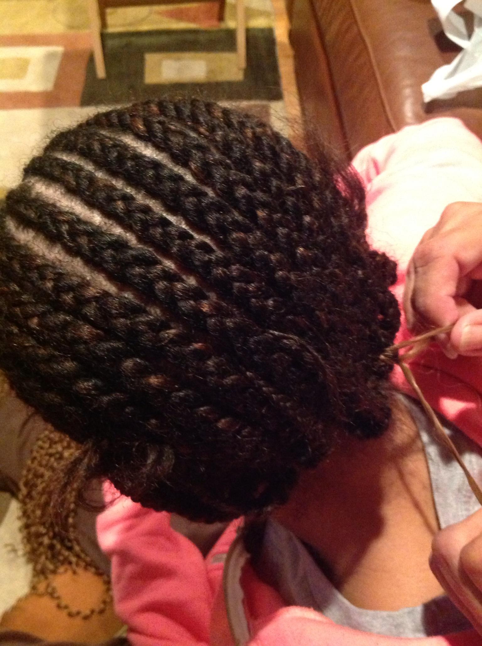cornrows crochet braids latch hook