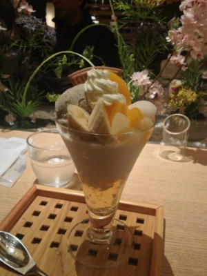 Jasmine Ice Cream Parfait