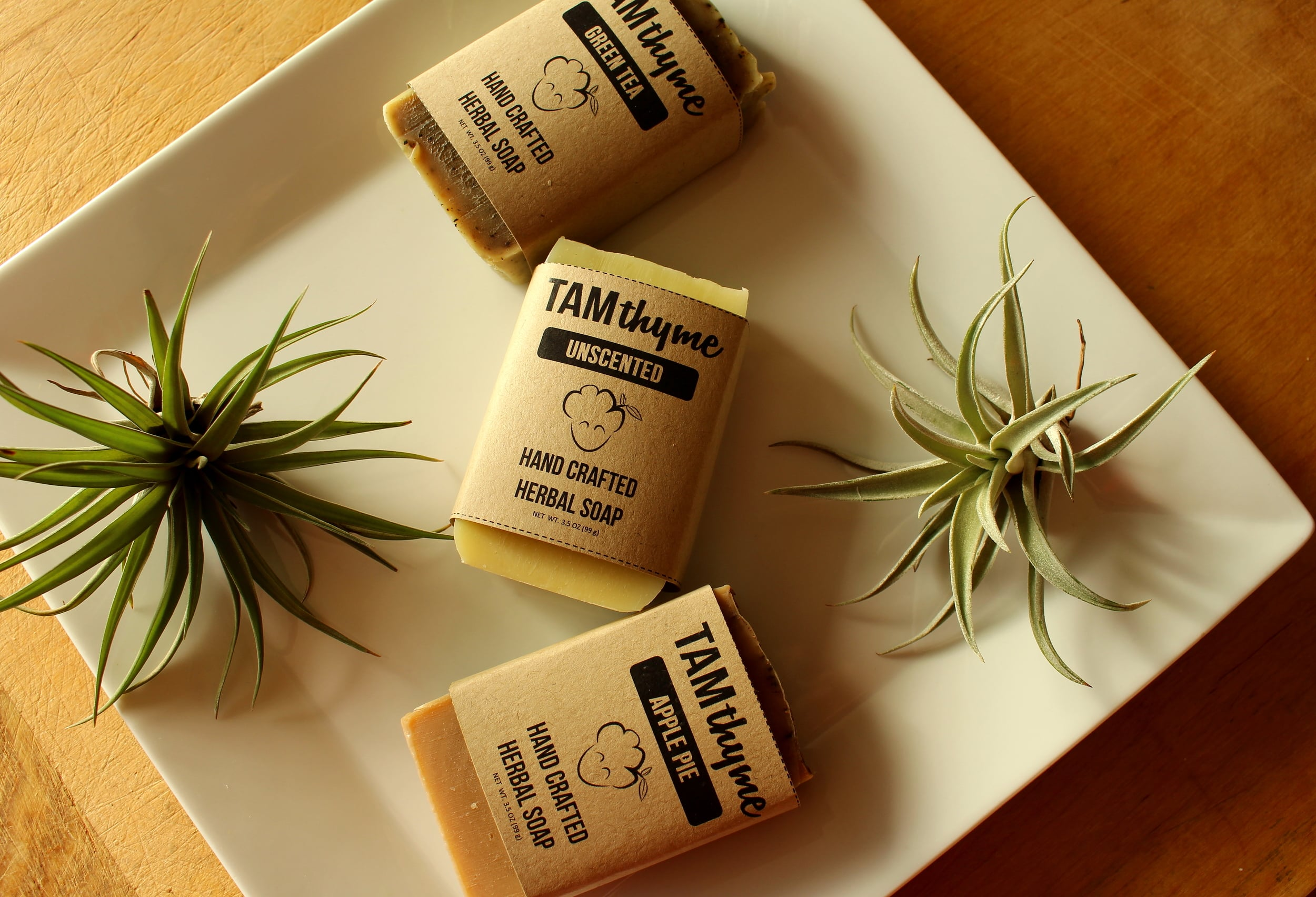 Introducing Green Tea Soap, Unscented Soap, and Apple Pie Soap