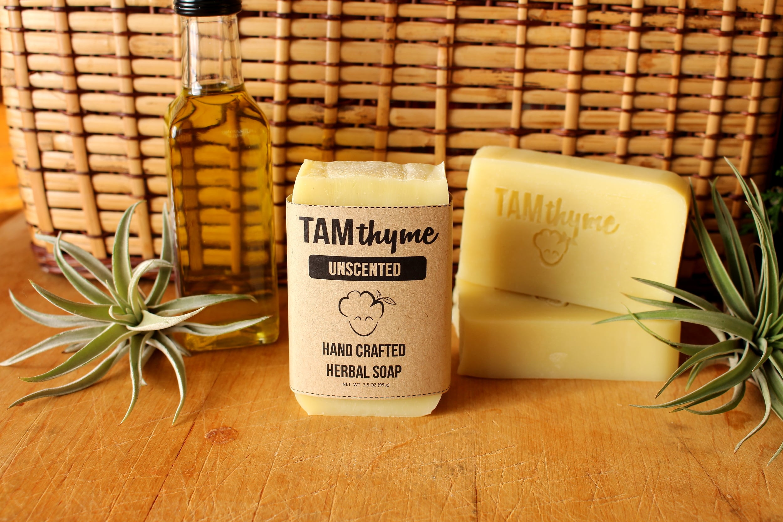 Unscented Natural Soap