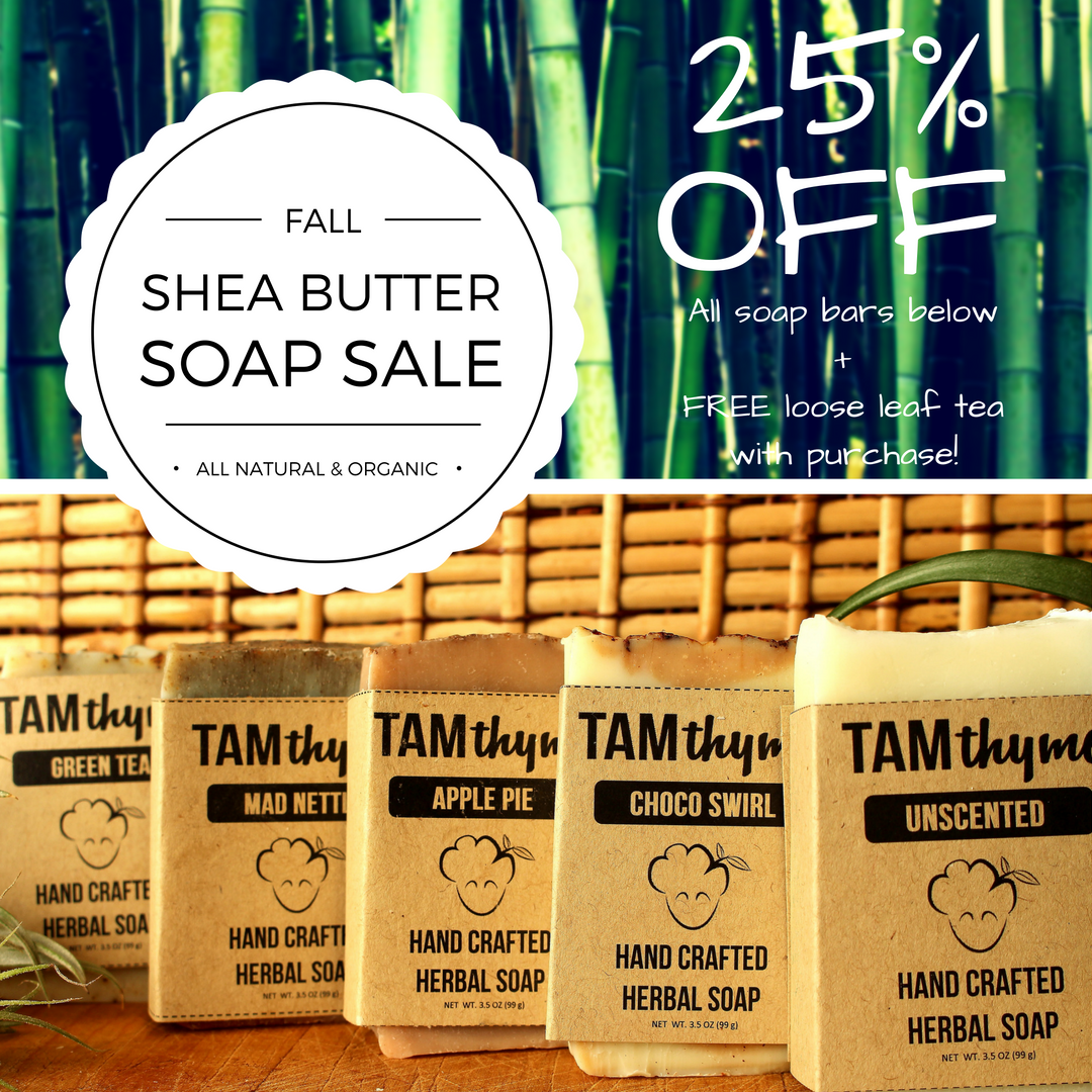 Stock up on your soap for the winter!
