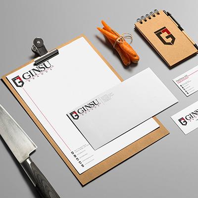 Ginsu   Branding, Logo Design