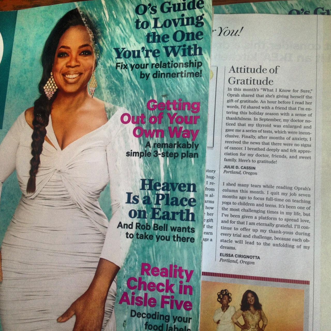 The Oprah Magazine February 2014