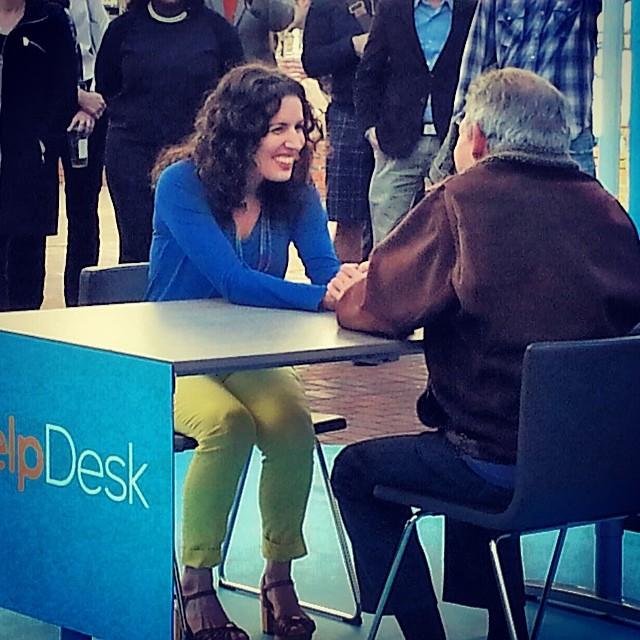 Co-founder Elissa Cirignotta chats with Gary Zukav for the Oprah Winfrey Network Televsion show HELPDESK.