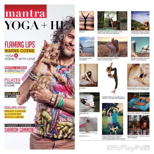 Nov/Dec Issue of Mantra Yoga + Health Magazine