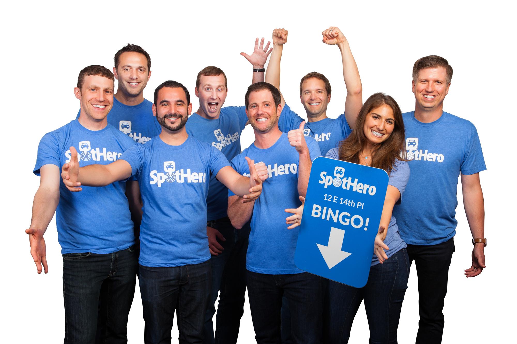 SpotHero Management Team