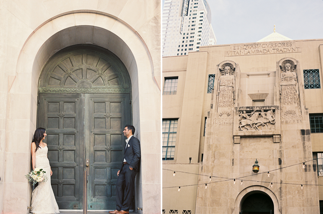 cafe pinot downtown los angeles wedding