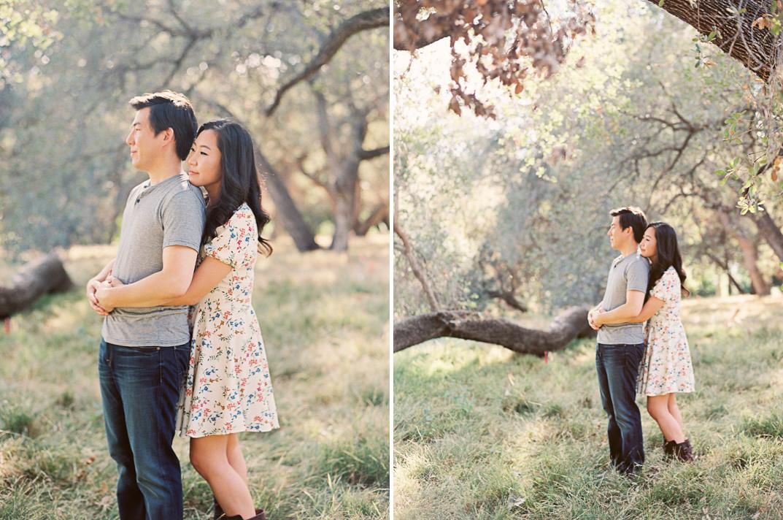 arboretum arcadia engagement session los angeles wedding photographer
