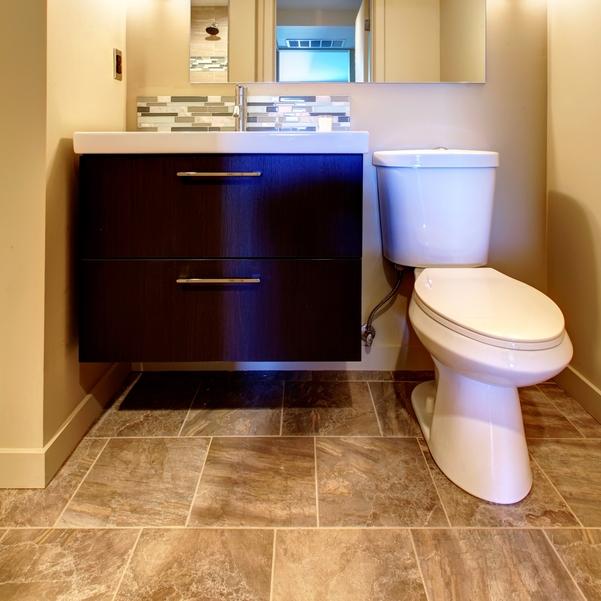 Vancouver Bathroom Renovation - Heated Tile Flooring
