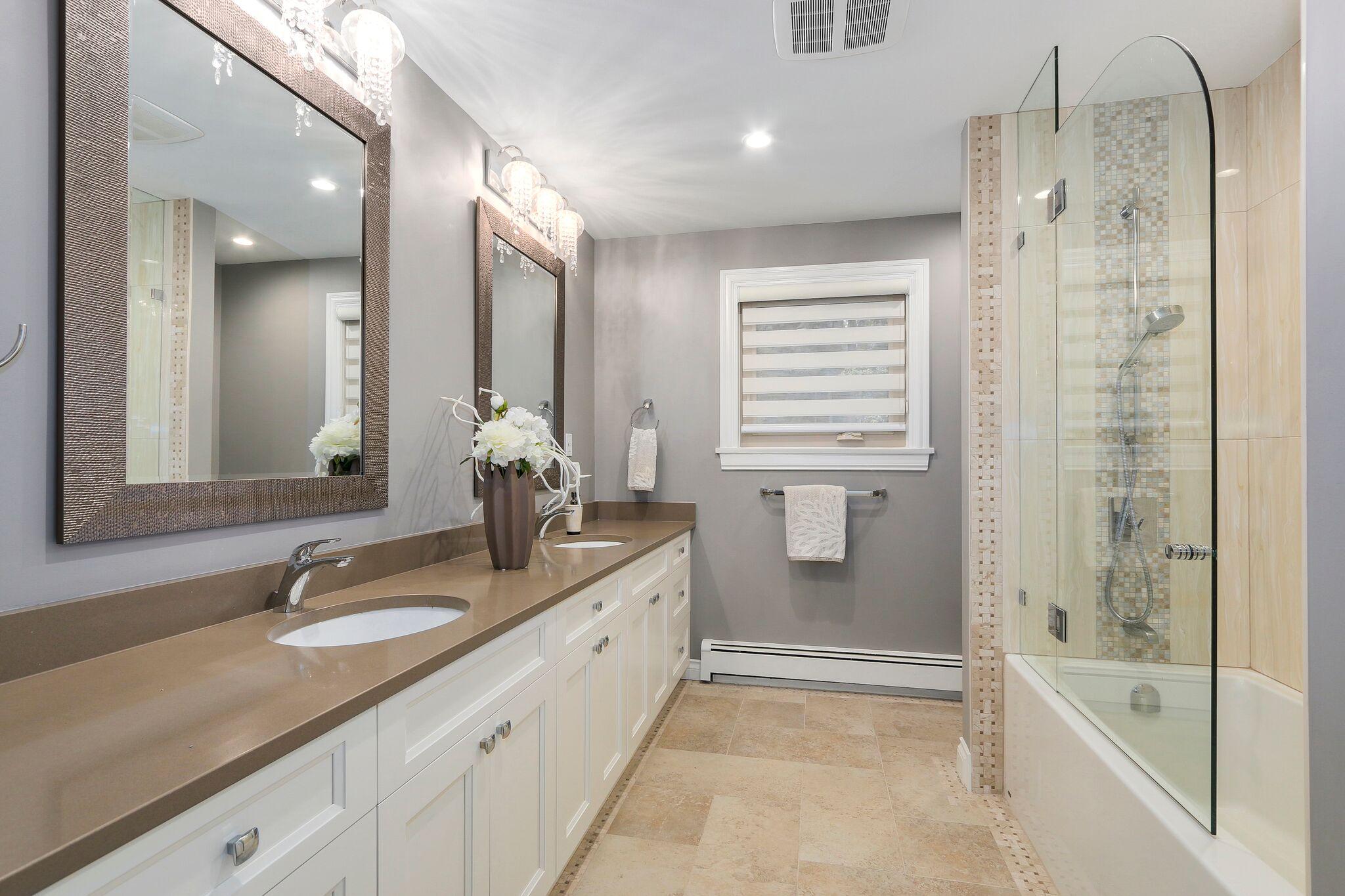 Luxury Bathroom Renovation in Coquitlam