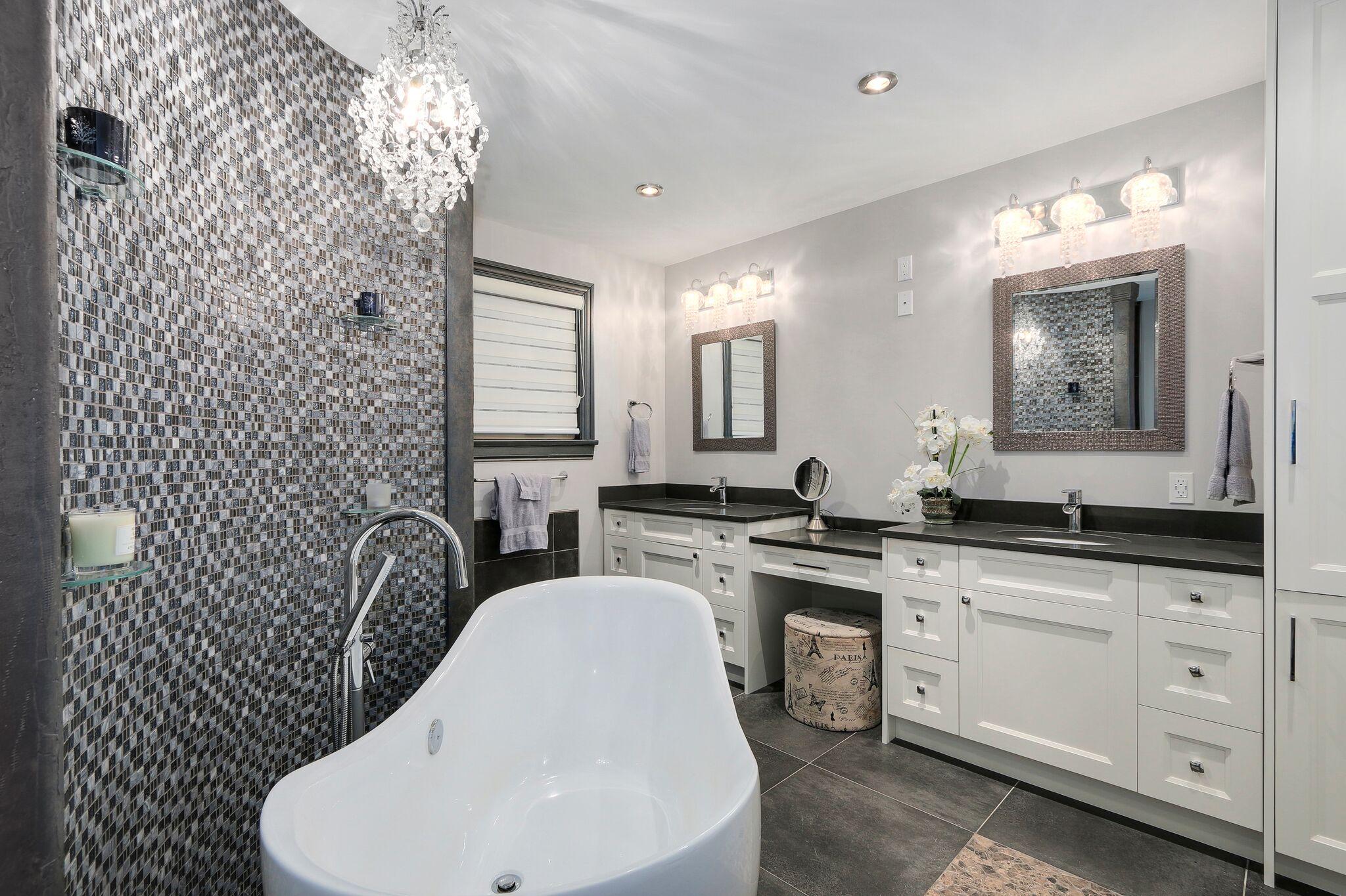 Luxury Master Ensuite Bathroom Renovation in Coquitlam